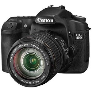 Photo of Canon EOS 40D With Canon EF-S 10-22MM and 17-85MM USM Lenses Digital Camera