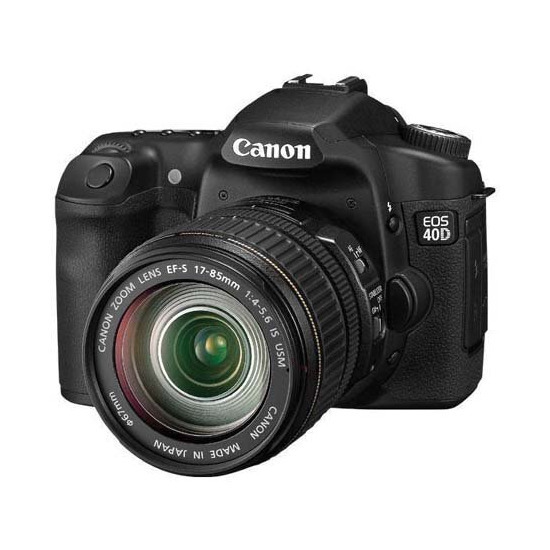 Canon EOS 40D with Canon EF-S 10-22mm and 17-85mm USM lenses