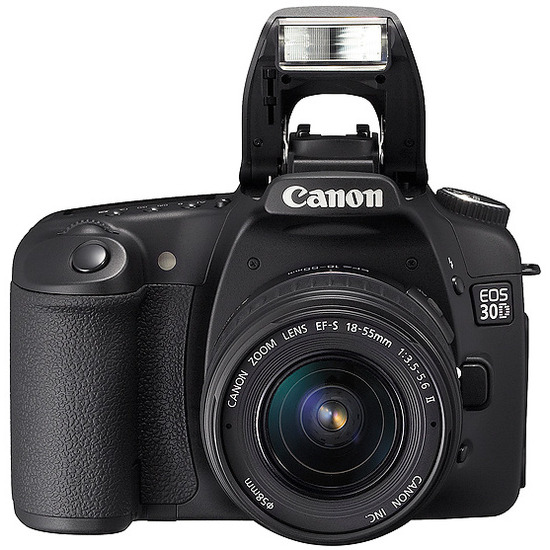 Canon EOS 30D with EF-S 18-55mm and 90-300mm lenses