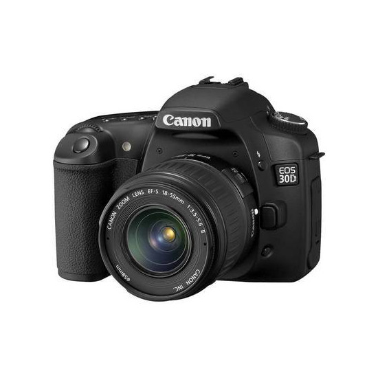 Canon EOS 30D with 18-55mm lens