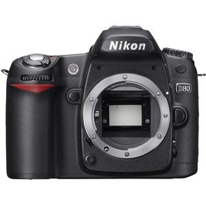 Photo of Nikon D80 With Sigma 18-50MM and Tamron 55-200MM Lens Digital Camera