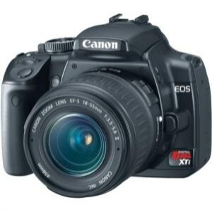 Photo of Canon EOS 400D With 55-200MM Lens Digital Camera