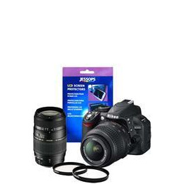 Nikon D3100 Twin Lens Bundle - 18-55mm Nikon and 70-300mm Tamron Reviews