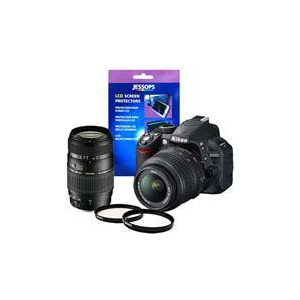 Photo of Nikon D3100 Twin Lens Bundle - 18-55MM Nikon and 70-300MM Tamron Digital Camera