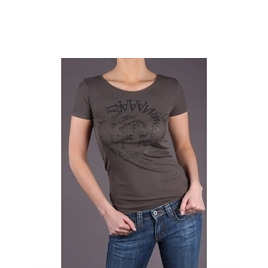 Diesel Khaki Glitter Logo T-Shirt Reviews