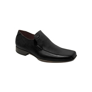 Photo of Base 'Tranny' Loafer Black Shoes Man