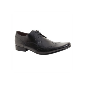 Photo of Base 'Motive' Formal Lace Black Shoes Man