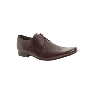 Photo of Base 'Motive' Formal Lace Brown Shoes Man