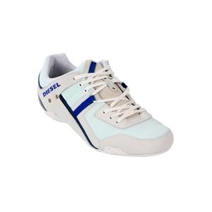 Photo of Diesel Korbin II Casual Shoe White & Blue Trainers Man