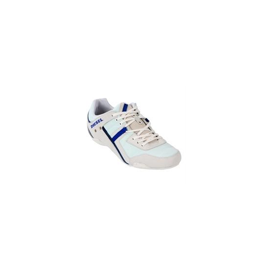 Diesel Korbin II Casual Shoe White & Blue