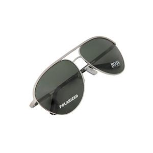 Photo of Hugo Boss Sunglasses BOSS0035/S Silver/Dark Green Sunglass