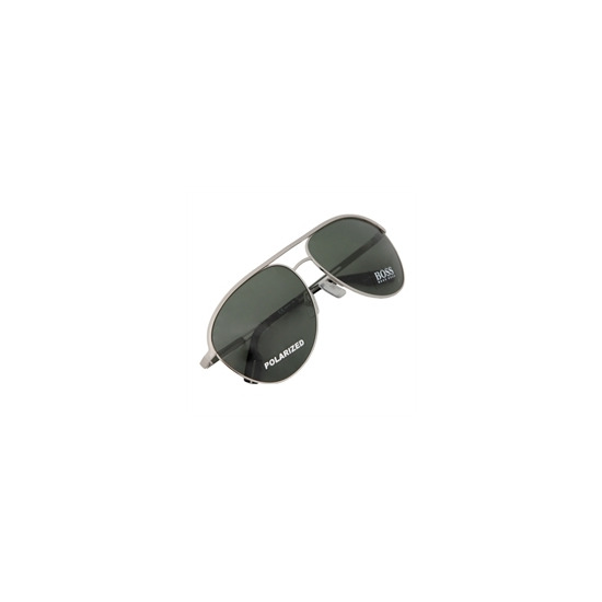 Hugo Boss Sunglasses BOSS0035/S Silver/Dark Green