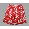 Photo of French Connection Red/White Hawaiian Swim Shorts Swimwear