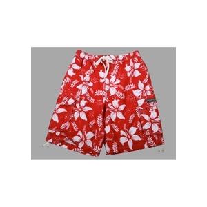 Photo of French Connection Red/White Hawaiian Swim Shorts Swimwear