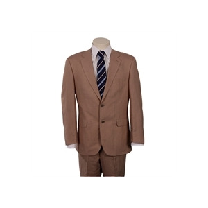 Photo of Scott Linen Blend Suit In Taupe Jackets Man