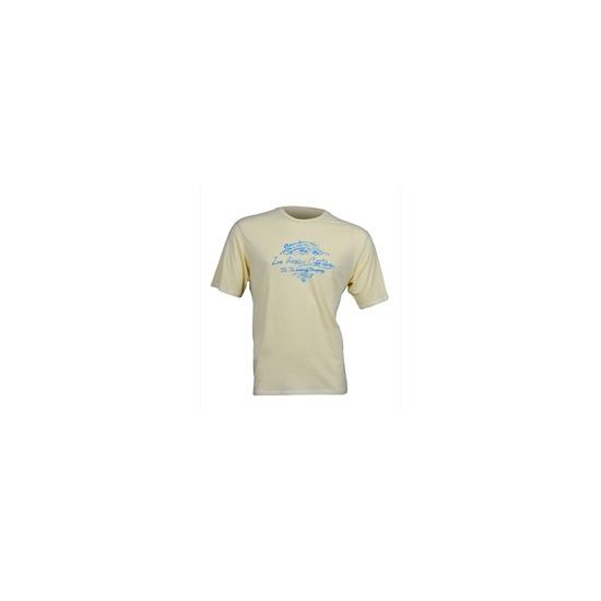 Timberland printed t-shirt yellow
