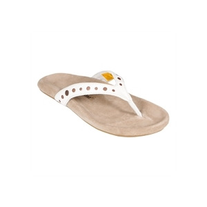 Photo of Caterpillar Flip Flops White Shoes Woman
