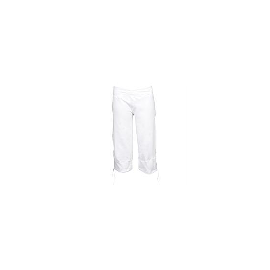 Nike studio knit capri pants - White
