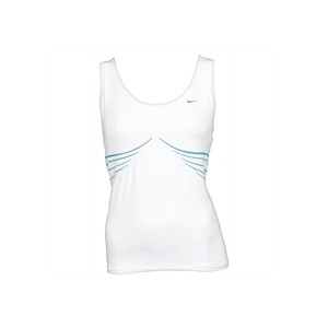 Photo of Nike Tech Short Sleeved Top - White Tops Woman