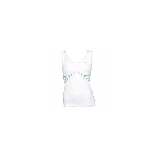 Nike tech short sleeved top - White