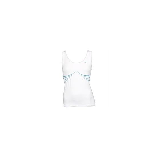Nike tech short sleeved top - White