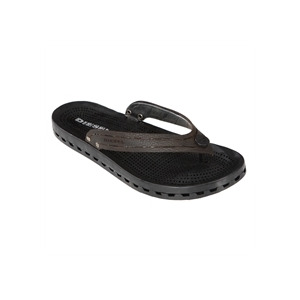 Photo of Diesel Leather Thong Style Sandal Shoes Man