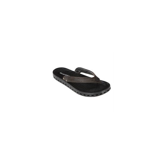 Diesel leather thong style sandal