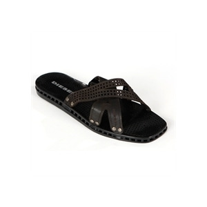 Photo of Diesel Leather Strap Style Sandal Shoes Man
