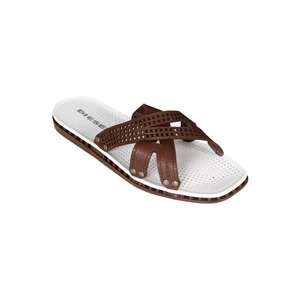 Photo of Diesel Strap Style Leather Sandal - Brown Shoes Man