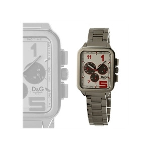 Photo of Dolce & Gabbana Men's Watch - Silver and White Watches Man