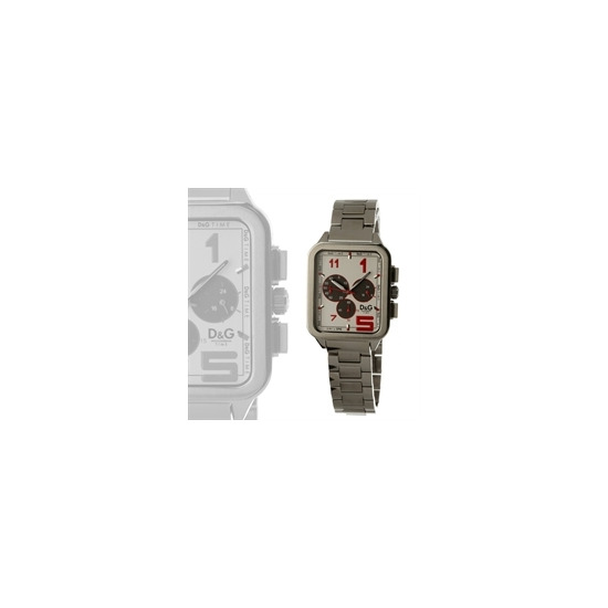 Dolce & Gabbana Men's Watch - silver and white