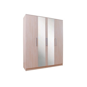 Photo of Lille 4 Door Wardrobe  Maple Effect Furniture