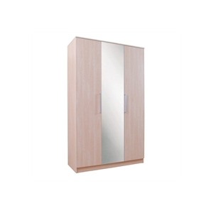 Photo of Lille 3 Door Wardrobe  Maple Effect Furniture