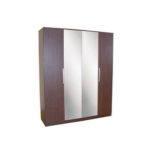 Photo of Chamonix 4 Door Wardrobe  Espresso Effect Furniture