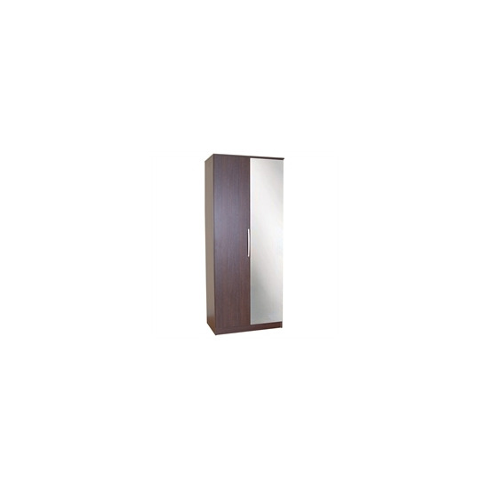 Chamonix 2 Door Wardrobe  Espresso Effect