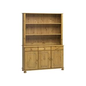 Photo of Kensington 3 Door Shelving Unit - Solid Pine Furniture