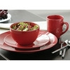 Photo of 16 Piece Domus Dinner Set Red Dinnerware