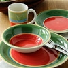 Photo of 16 Piece Titan Dinner Set - Green and Red Kitchen Accessory
