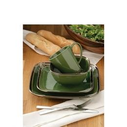 16 Piece Bronze Verde Square Dinner Set Reviews
