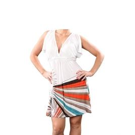 Ringspun Plait Detail Dress White Reviews