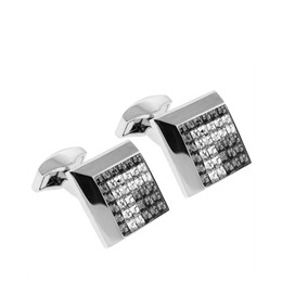 RT Collection Square Cufflinks - Clear Crystal Reviews