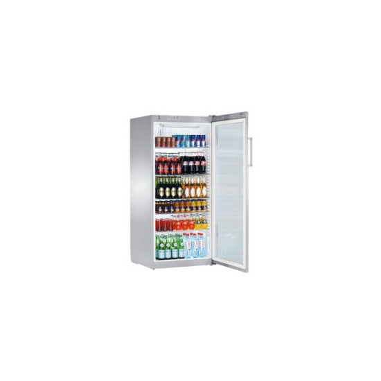 Forced Air Commercial Refrigerator Glass Door