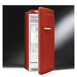 Red Retro Freezer Right Hand Hinge