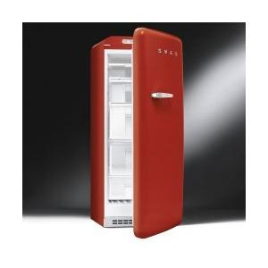 Photo of Red Retro Freezer Right Hand Hinge Freezer