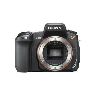 Photo of Sony Alpha DSLR-A350 (Body Only) Digital Camera