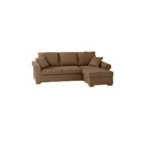 Photo of Chiswick Large Chaise Sofa Bed With Storage - Mink Right Hand Facing Furniture