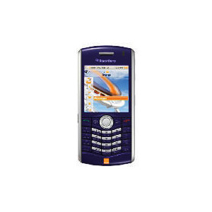 Photo of Orange BlackBerry 8120 Indigo Mobile Phone