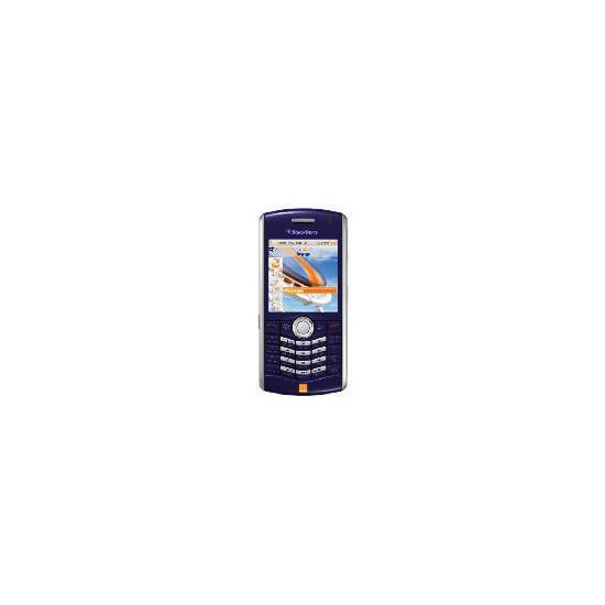 Orange BlackBerry 8120 Indigo