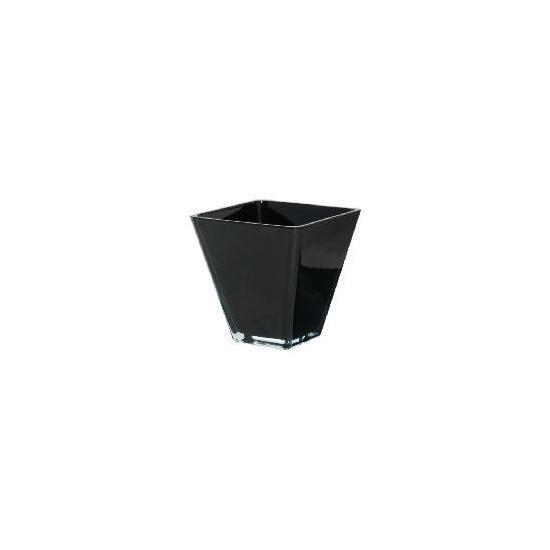Tesco Conical Tank Vase - Black