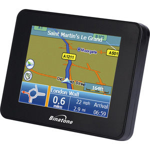 Photo of Binatone B350 UK & ROI Satellite Navigation